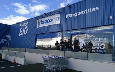 Marché de Producteurs Biocoop Marguerittes –  le 09 juin 2018 de 15h à 19h