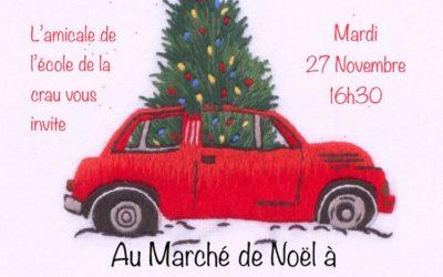 Marché de noël Ecole de la Crau Chateaurenard 27 novembre 2018
