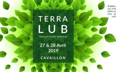 Conférence et rencontre à Cavaillon – Salon Terra Lub le 28 avril 2019 à 15h