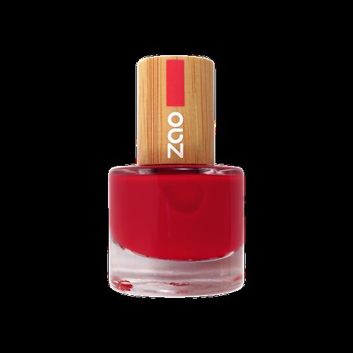 Vernis rouge carmin ZAO 650