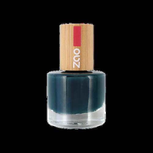 Vernis bleu canard ZAO