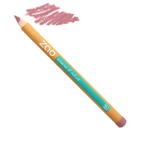 Crayon à lèvres Rose Vintage Zao Makeup Slow Cosmétique