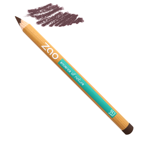 crayon brun Zao makeup, slow cosmétique