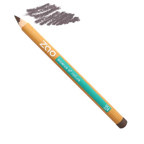 Crayon brun clair yeux et sourcils Zao Makeup, Slow cosmétique