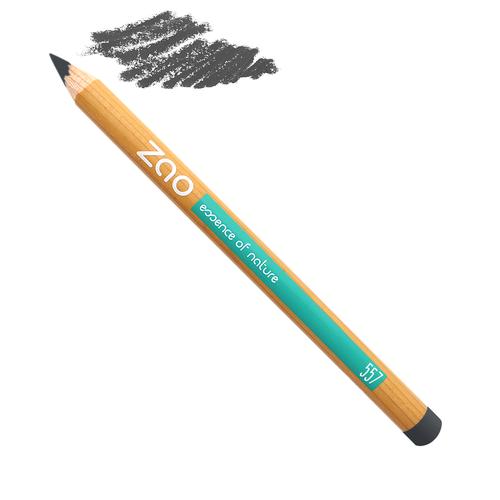 crayon gris yeux Zao Makeup slow cosmétique