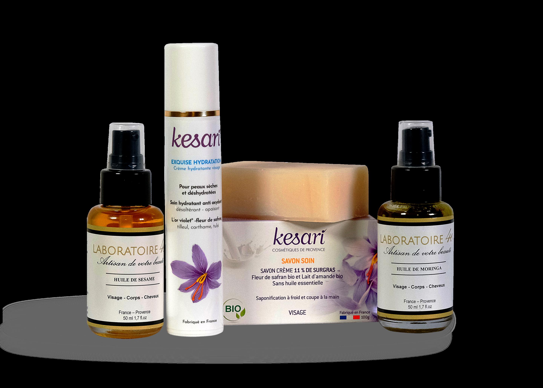 Pack Visage Kesari - Peaux sensibles
