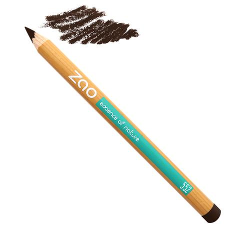 Crayon brun foncé ZAO
